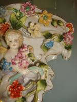 Foto 2 Porzellan-Wandkonsole - Florentiener Wandkonsole