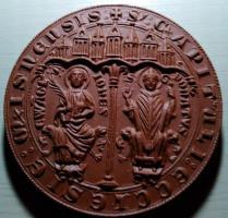 Porzellanmünzen von Meissen