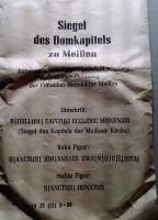 Foto 3 Porzellanmünzen von Meissen