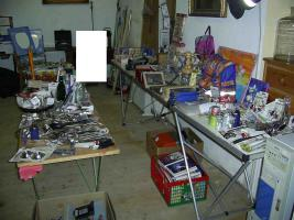 Foto 5 Posten Trödlerware Flohmarktware aus privater Haushaltsauflösung