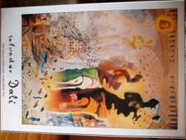 Poster S.Dali `The hallucinogenic Toreador` in Alurahmen