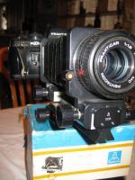 Foto 2 Praktica Spiegelreflex Fotoausrüstung überkomplett