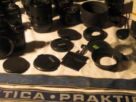 Foto 5 Praktica Spiegelreflex Fotoausrüstung überkomplett