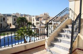 Foto 4 Preis-Knaller, 96.600 Euro, 2 Schlafzimmer-Wohnung am Golfplatz, hohe Bauqualität, Terrasse, Costa Blanca, Spanien,