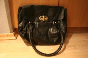 Primark Tasche Alexa Shopper Messenger Bag in schwarz