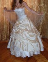 Prinzessinen Brautkleid + Zubehör