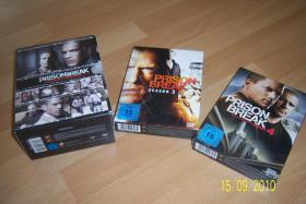 Prison Break 1 - 4 / Season 1 - 4 komplett und wie neu!