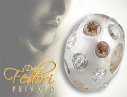 Privato Bead Amber Universe 925 Sterling Silber
