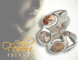 Privato Bead Forever Amber 925 Sterling Silber, Zirkonia