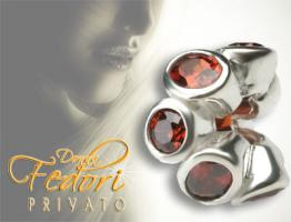 Privato Bead Forever red 925 Sterling Silber, Zirkonia