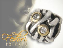 Privato Bead Funky Wire 925 Sterling Silber