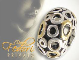 Privato Bead Goldkringel 925 Sterling Silber