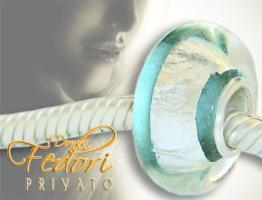 Privato Glasbead Turquoise Secret 925 Sterling Silber