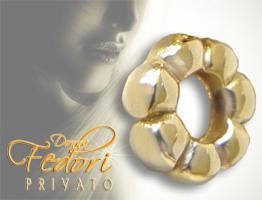 Privato Spacer Goldie 925 Sterling Silber 18k vergoldet