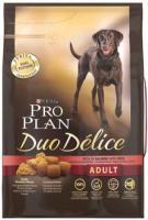 Pro Plan Dog Adult Duo Délice reich an Lachs und Reis Hundefutter von Purina