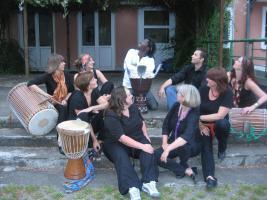 Foto 2 Proberaum im Raum Leverkusen für Djembegruppe Assaman
