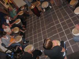 Foto 3 Proberaum im Raum Leverkusen für Djembegruppe Assaman