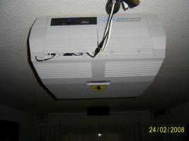 Foto 2 Projektor Seleco 195 Mit Motorleinwand 2,5mx2,5m