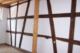 Foto 4 Provisionsfrei, 2 Häuser mit romantischem Innenhof, sofort frei, bezugsfertig, Fachwerkhaus,