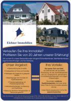 Provitieren Sie von 20 Jahren Erfahrung ! Wir suchen Ihre Immobilie !Sofortverkauf möglich !
