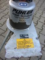 Foto 2 Pühler Abfall-Schnitzler / Häcksler