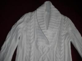 Foto 2 Pullover – Baumwolle mit Strickmuster