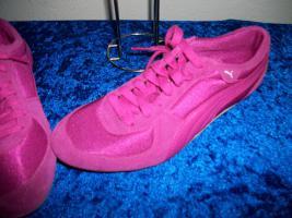 Foto 3 +++ Puma +++ Sneaker + pink + 38 + neu