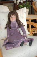 Foto 2 Puppe  50 cm.  Teile a. Porzellan
