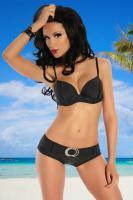 Push-Up Bikini-Set - SAMEGAME - Schwarz - Größe M - Neu & OVP