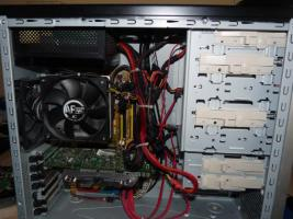 Quad Core 4x 2,4 GHz, GT8800 GTS, 500GB HDD, 4GB RAM, SILENT Leise