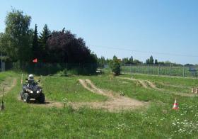 Quad-Parcours auch für Kinder und Jugendliche