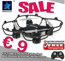 Quadcopter Drone Cheerson CX-10SE nur € 9 frei Haus