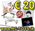 Quadcopter RC 6-Axis Gyro � 20 � versandkostenfrei - mit Video