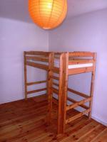 Qualit�ts-Hochbett aus Holz 210 x 100