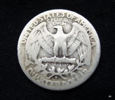 Foto 2 Quarter Dollar 1942 D