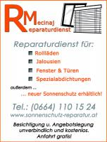 reparatur service wartung fenster t ren dichtungen jalousien rollo in graz. Black Bedroom Furniture Sets. Home Design Ideas