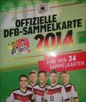 REWE WM 2014 - 100 Tüten / Sammelkarten (neu / ovp)