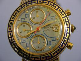 Foto 3 R. ZANNETTI 18kt GOLD Herren CHRONOGRAPH - LIMITIERT WELTWEIT NUR 25 ST�CK
