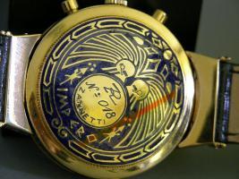 Foto 7 R. ZANNETTI 18kt GOLD Herren CHRONOGRAPH - LIMITIERT WELTWEIT NUR 25 ST�CK