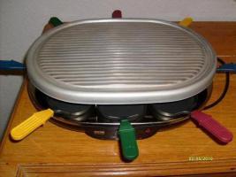 Raclette elektrisch, für 8 Personen