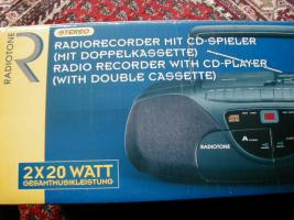 Radio-Recorder mit CD-Player