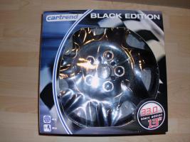 Radkappenset Cartrend Black Edition