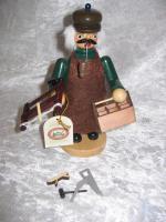 Foto 3 Räuchermännchen verschiedene Handwerksberufe