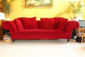 Rahaus-Couch im barokken Stil