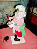 Foto 4 Rarietät! Weihnachtsmann Rührt Teig Schüssel