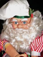 Foto 5 Rarietät! Weihnachtsmann Rührt Teig Schüssel