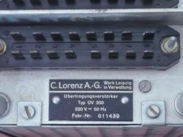 Foto 3 Rarität - Übertragungsverstärker UV 300