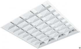 Rasterleuchte REL 4x18 Watt Osram EVG Weiß