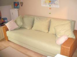 Rattansofa neuwertig Lindrün ein Traum für Ihr Wohnzimmer