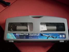 Foto 2 Reflaktor-Teleskop mit viel Zubehör
